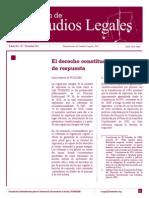 Boletin 132 Diciembre 2011 El Derecho Constitucional de Respuesta