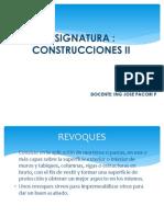 Construcciones II. 2014-II