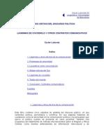Análisis Crítico Del Discurso Político, Xavier Laborda