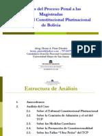 Analisis Del Proceso Penal a Las Magistradas Del Tribunal Constitucional Plurinacional de Bolivia