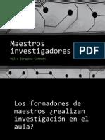 Maestros Investigadores