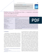 Pedalium Murex Linn Fruits- A Comparative Antioxidant