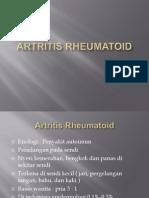 Artritis Rheumatoid