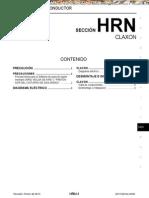 Manual Nissan Sistema de Claxon