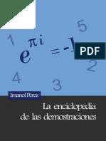 Perez Imanol - La Enciclopedia de Las Demostraciones