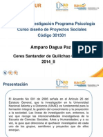 Lineas de Investigacion Psicologia 2014 II