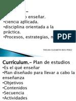Tarea Didactica Curriculum