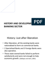 History and Development of Banking industry
