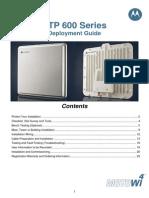 Mototola PTP 600 Deployment Guide