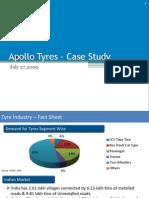 Case Study on Apollo Tyres