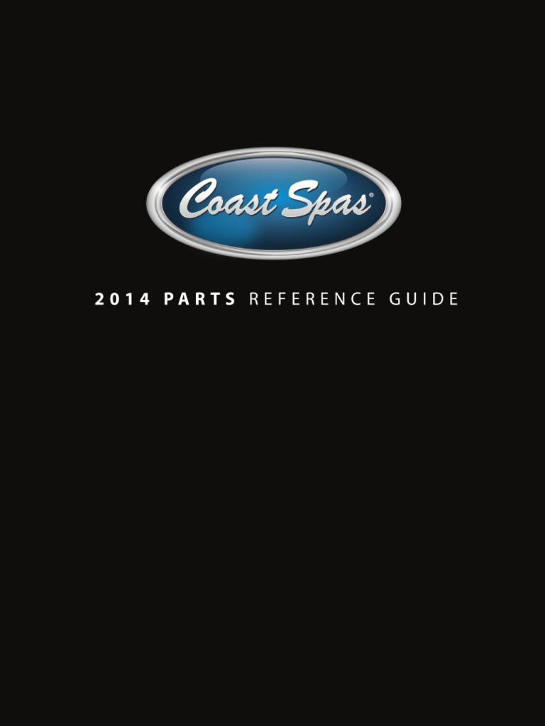 2014 Coast Spas Parts Catalogue pdf