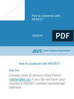 En How to Cooperate With AIESEC