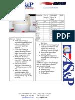 PTFE Stem Packing