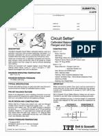 Bell&Gossett Circuit Setters