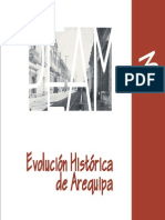 AREQUIPA EVOLUCION HISTORICA