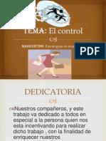 Control y Marketing