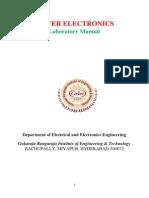 PE Lab Manual 2013 Autonomous