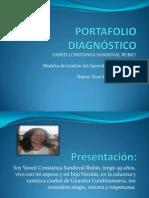 PORTAFOLIO DIAGNÓSTICO YANED