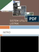 Presentasi Utilitas Listrik