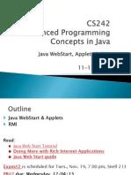Java WebStar, Applets & RMI