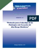 Protocolo de Abordaje a Las Patologías Más Frecuentes de ARO