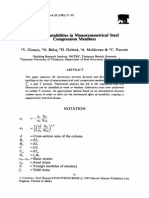 Buk7-Coupled Instabilities in Mono-symmetrical Steel Compression Members