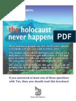 Brochure - Holocaust Never Happened