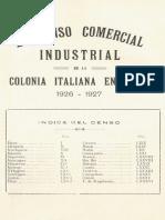 Comerciantes Italianos 1926