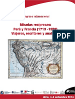 Programa Congreso Peru Francia 1713 1959