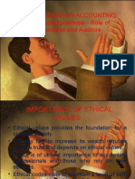 Ethical Values in Accounting
