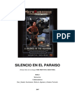 Mechwarrior Battletech SILENCIO en EL PARAISO Libro4-3132