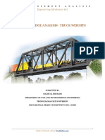 Truss Bridge Project
