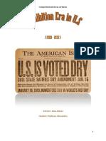 Prohibition in Us Draft Badescu Alexandru