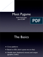Meet Pygame