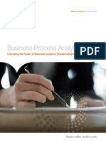 Business Process Analytics Unlocking the Power of Data and Analytics Transforming Insight Into Income