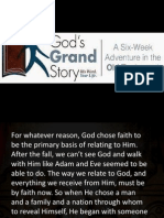 Gods Grand Story2 (Life of Faith)