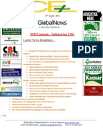 29th August,2014 Daily Global Rice E-Newsletter by Riceplus Magazine