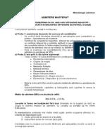 Admitere-masterat IAIOPG