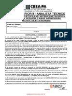 Prova Superior II Analista Tecnico