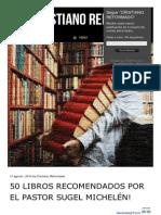 Libros Recomendados Por El Pastor Sugel Michelen