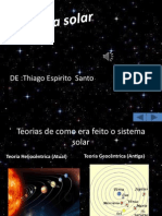 Sistema Solar ,Thiago Espirito Santo