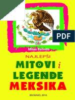 Milan Balinda - Najlepsi mitovi i legende Meksika