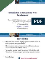 Week5 Intro Server Side i