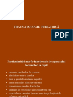 Traumatologie Pediatrica