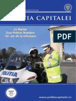 Revista Politia Capitalei - Martie 2013