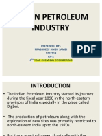 46066880 Indian Petroleum Industry Ppt
