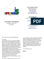 2014 Revised Volunteer Handbook
