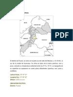 UBICACIÓN de Pucara