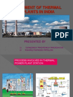 management of thermal power plant in india