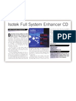 Isotek CD Enhancer Manual